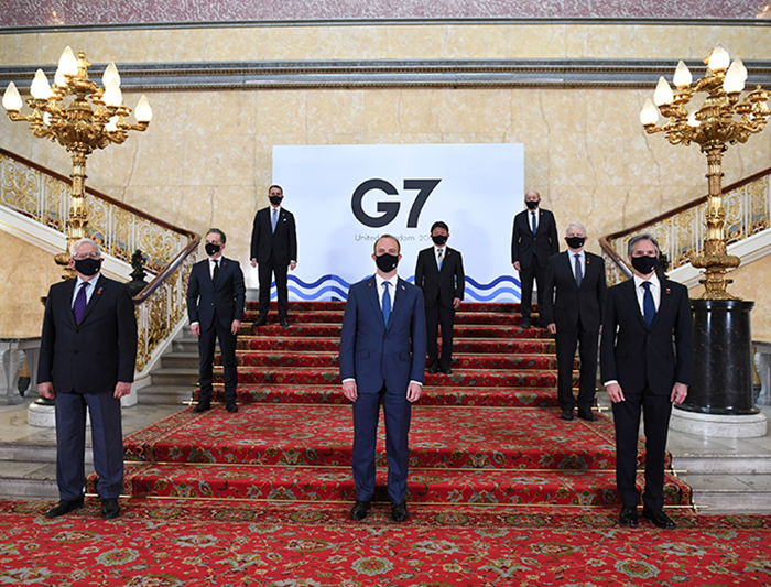 The G-7 Foreign And Development Ministers Meeting